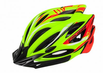 Crussis Helme, Neon-Gelb / Neon-Orange