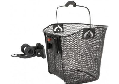 Fahrradkorb hochwertig – Klicksystem für Lenker 22.2mm – 31.8mm